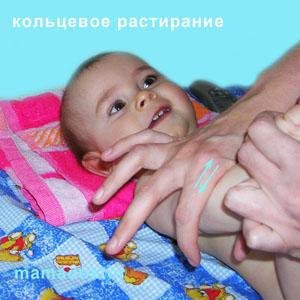 Массаж и гимнастика для ребенка от 3х до 6-ти месяцев