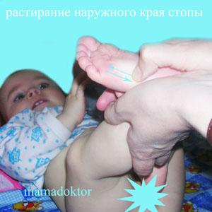 раМассаж и гимнастика для ребенка от 3-х до 6-ти месяцев