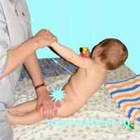 Гимнастика ребенка от 6 до 9 месяцев дополнения к массажу