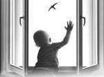 ребенок и окно