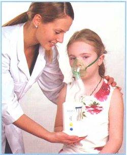 лечение с помощью небулайзера