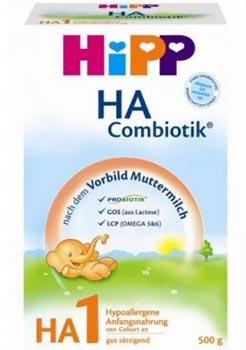 Хипп комбиотик гипоаллергенная 1