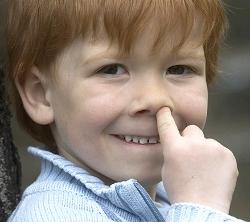 Кровь из носа у ребёнка