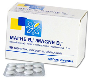 таблетки магне В6