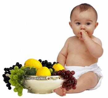виноград и изюм детям