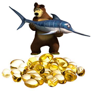 рыбий жир детям