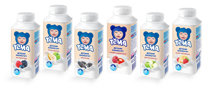 Йогурт ребенку