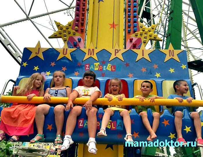 отдых в Сочи с детьми 2016