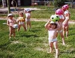 Закаливание детей