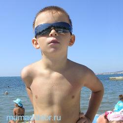 Когда ребенку можно на море