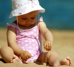 ребенку можно на море