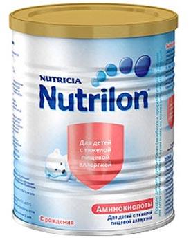 Нутрилон аминокислоты Гипоаллергенные смеси