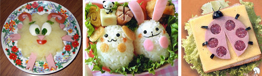 красивое оформление детских блюд