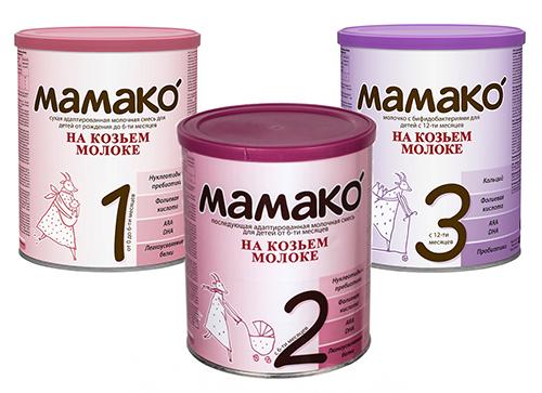 Мамако Смеси на козьем молоке