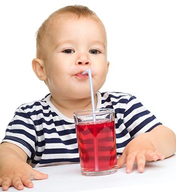 Сок ребенку