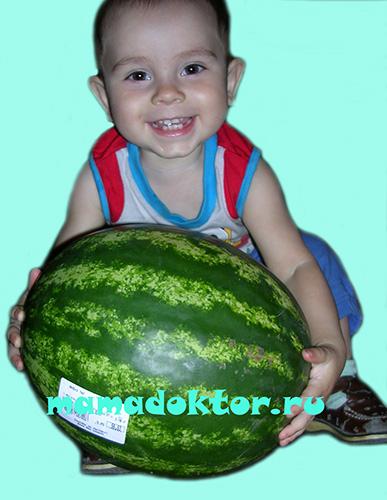 арбуз ребенку