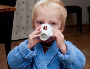 Кофе ребенку