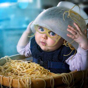 Макароны ребенку