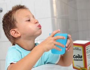 сода ребенку