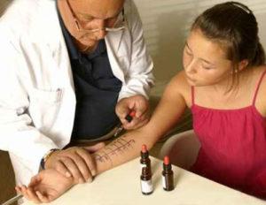 аллергопробы у детей