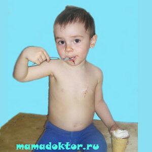 Мороженое детям Виды Состав Таблица