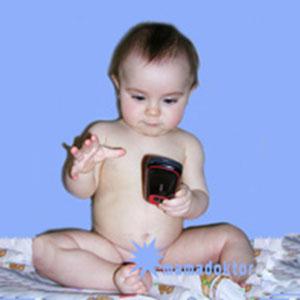 Сотовый телефон и ребенок Вред
