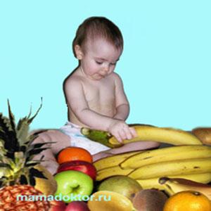 Соки и фруктовые пюре как прикорм